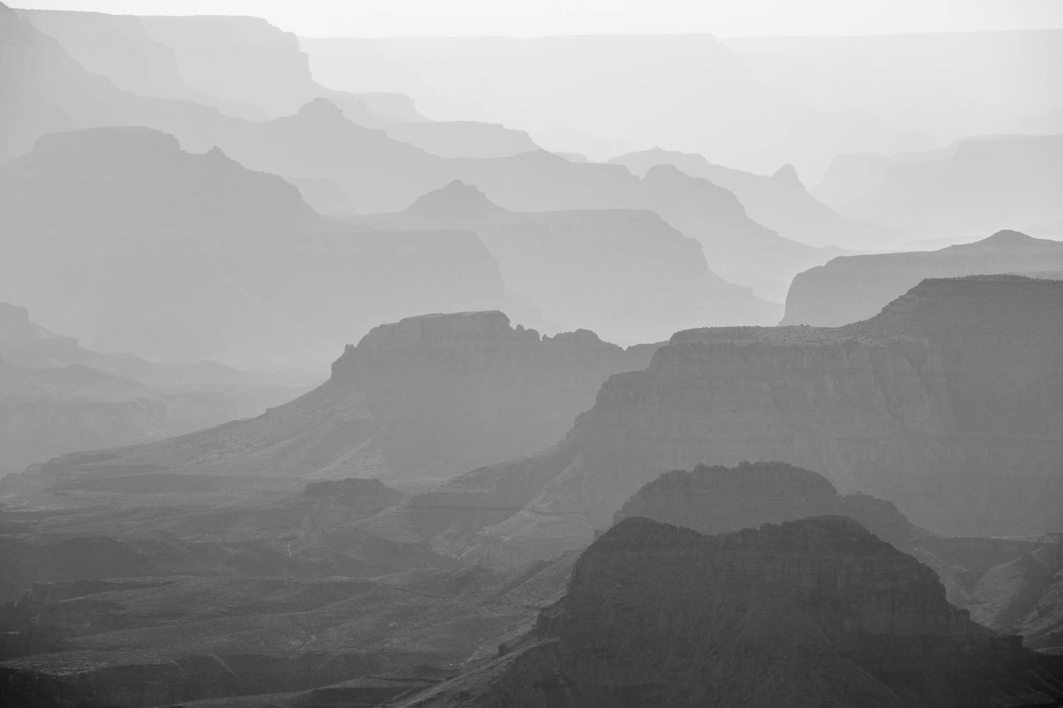 The many layers of the Grand Canyon